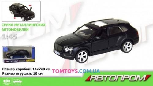 Автомодель АВТОПРОМ 1:45  Bentley Bentayga 7627