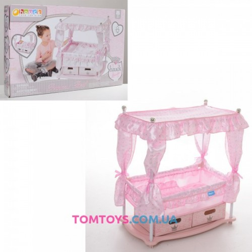 Kровать для кукол с балдахином Hauck D 90416