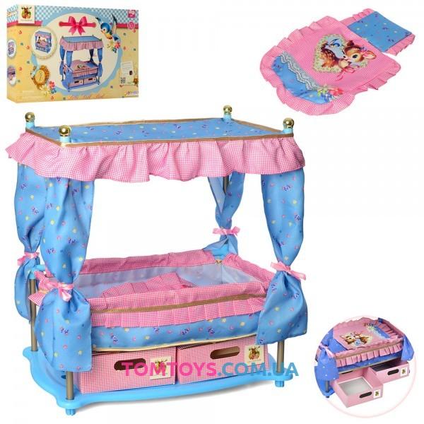 Kровать для кукол с балдахином Hauck D 90421