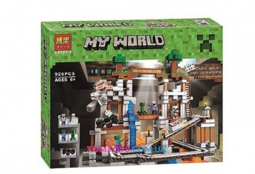 Конструктор Bela Minecraft  Шахта 10179
