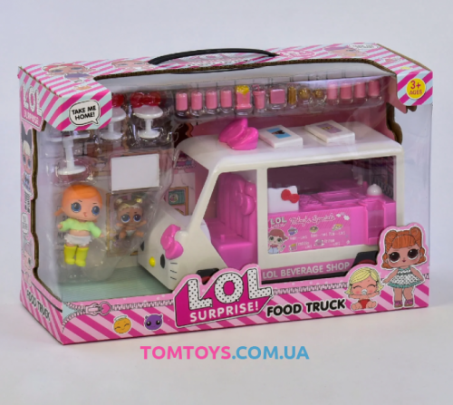 Набор с куклой Передвижная закусочная  К 5622