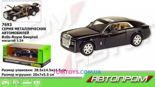 Автомодель АВТОПРОМ 1:24 Rolls-Royce Sweptail 7693