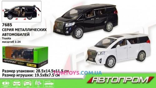 Автомодель АВТОПРОМ 1:24 Toyota Alphard 7685