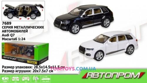 Автомодель АВТОПРОМ 1:24 Audi Q7 7689