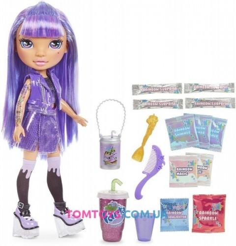 Кукла пупси слайм Фиолетовая Леди Poopsie Rainbow High Girls Amethyst Rae 571193