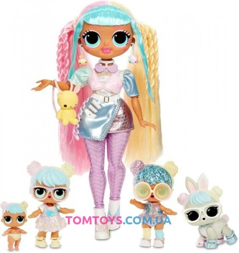 ЛОЛ Семья Кендилишис Бон Бон L.O.L. Surprise O.M.G. Candylicious Family Bundle Bon Bon Family 422242