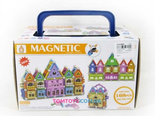 Магнитный конструктор MAGNETIC AQ-728
