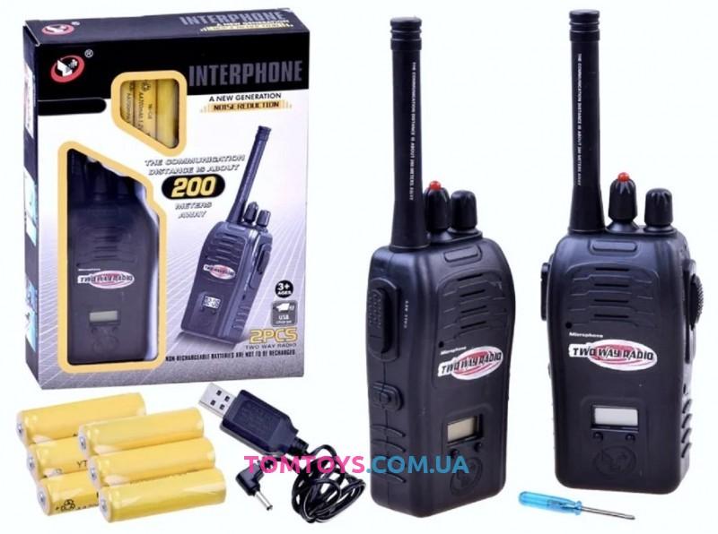 Детская рация Interphone на аккумуляторах JQ220-6C5