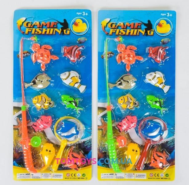 Рыбалка магнитная 666-19