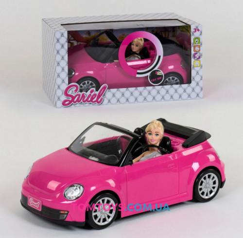 Кукла с машинкой 6633