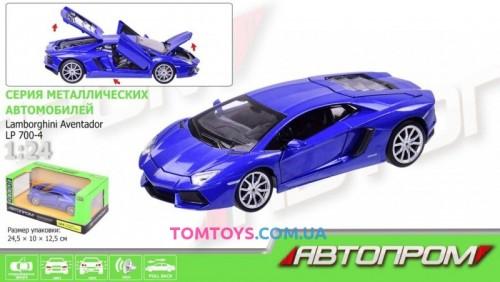 Автомодель АВТОПРОМ 1:24 Lamborghini Aventador LP700-4  68254A