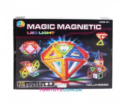 Конструктор магнитный MAGIC MAGNETIC JH6892