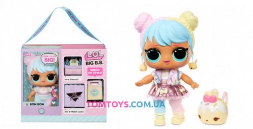 Большая кукла LOL Surprise Big B. B. Doll Bon Bon Бон Бон 573050