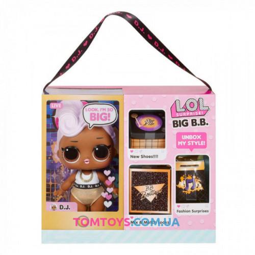 Большая кукла малышка лол Диджей LOL Surprise Big B. B. Big Baby D. J. 573067