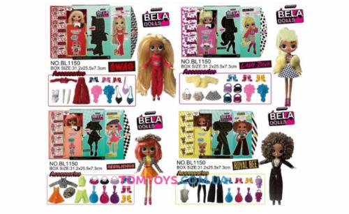 Набор с куклой BELA DOLLS Surprise BL1150