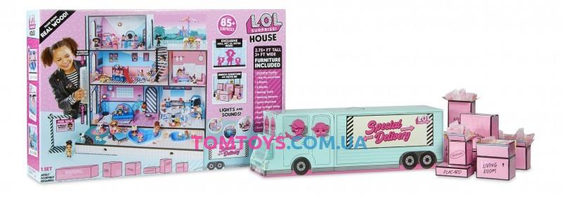 L.O.L Surprise House with 85 + Surprises Дом для кукол + 85 сюрпризов L.O.L