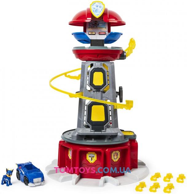 Большая смотровая башня могучих щенков Paw Patrol Mighty Pups Super Paws Lookout Tower