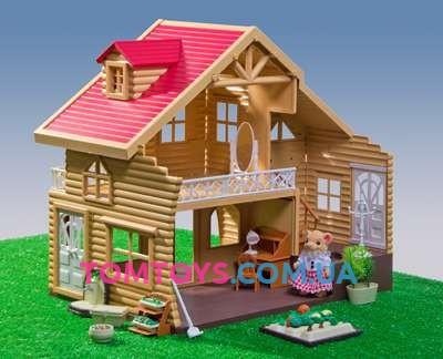 Загородный домик для Львят Happy Family (аналог Sylvanian Families) 012-03