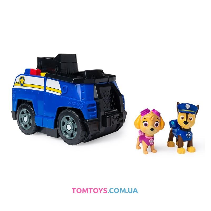 Игровой набор Paw Patrol Суперкоманда Гонщик и Скай 2 в 1 SM16789/8053