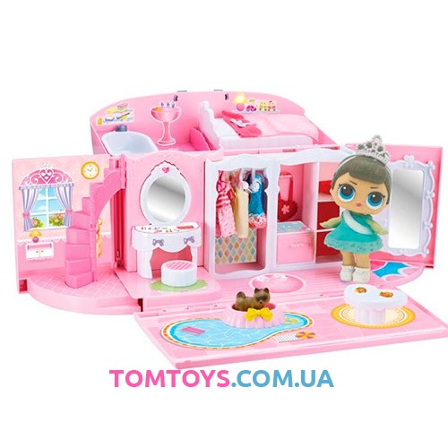 Игровой набор домик сумочка с куклами L.O.L Surpries QL051-1
