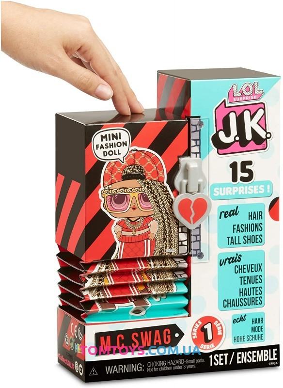 Игровой набор с куклой L.O.L. Surprise серии J.K. Леди DJ 570769