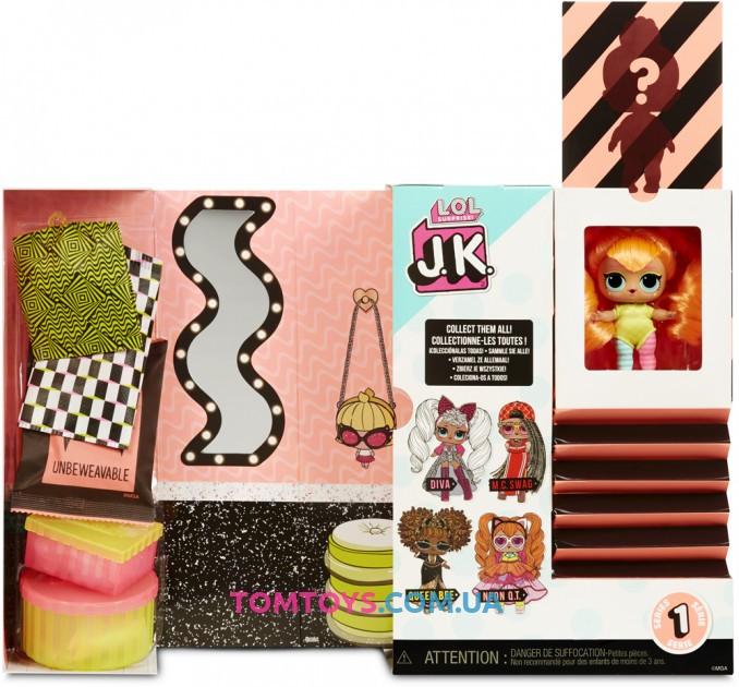 Игровой набор с куклой L.O.L. Surprise серии J.K. Леди неон 570776