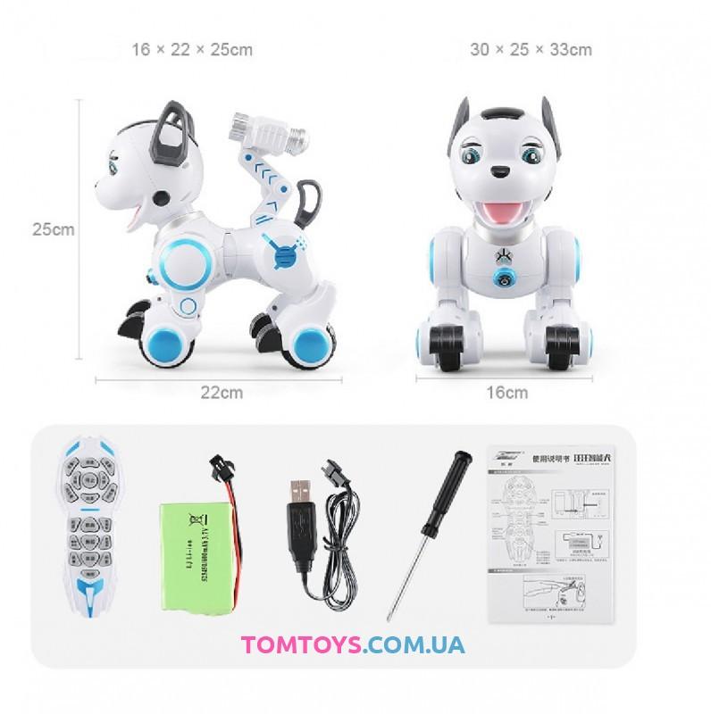 Интерактивная игрушка робот собака на радиоуправление K10