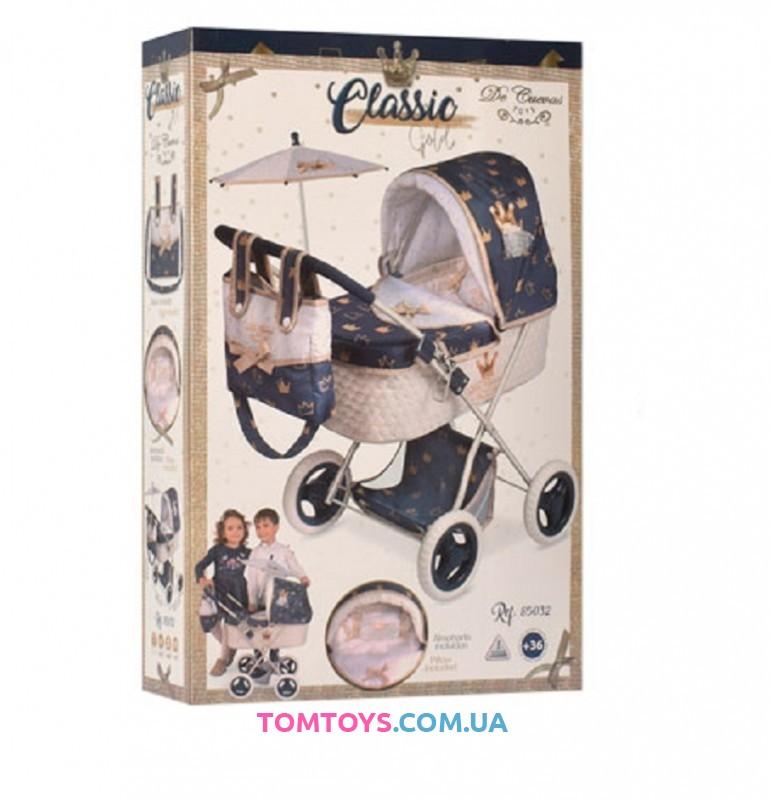 Коляска для кукол Classic De Cuevas 85032