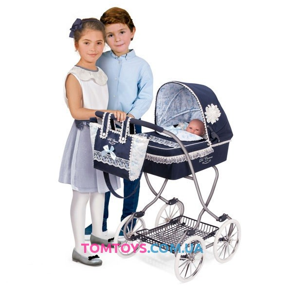 Коляска для кукол DeCuevas серии Романтик 80225