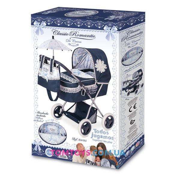 Коляска для кукол DeCuevas серии Романтик 85025