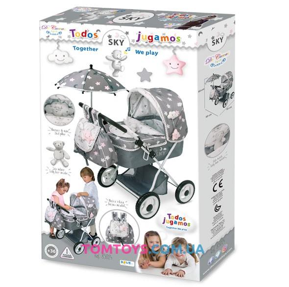 Коляска для кукол DeCuevas серии Скай 85024