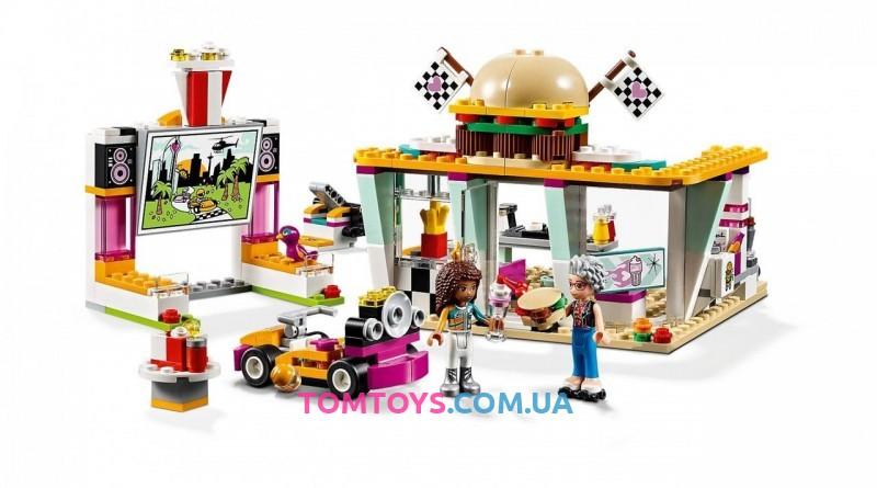 Конструктор Bela Friends аналог Lego Friends 41349 Передвижной ресторан 11038