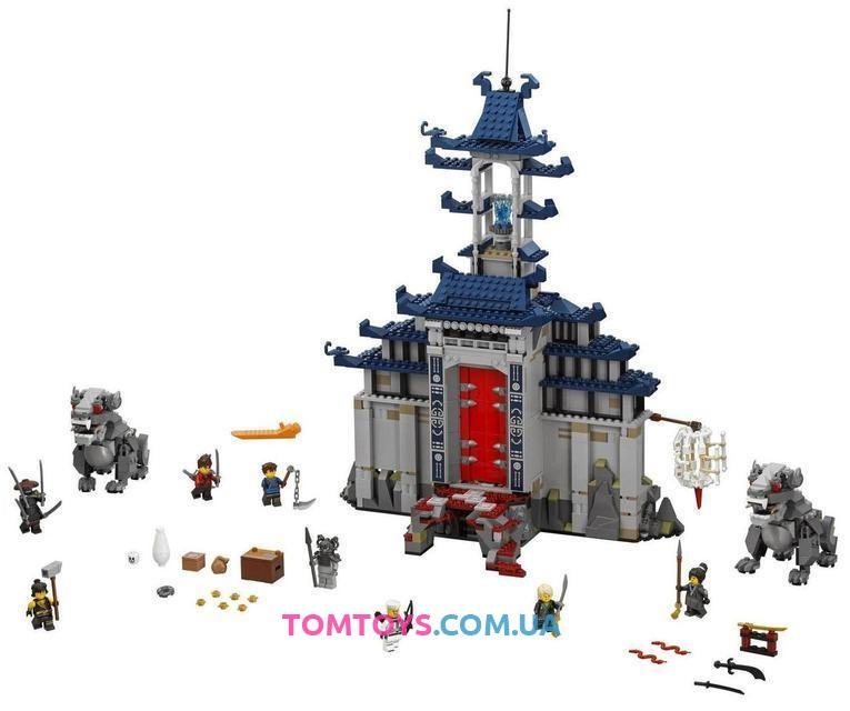 Конструктор Bela Ninjago Movie 10722 аналог Lego 70617 Храм последнего великого оружия