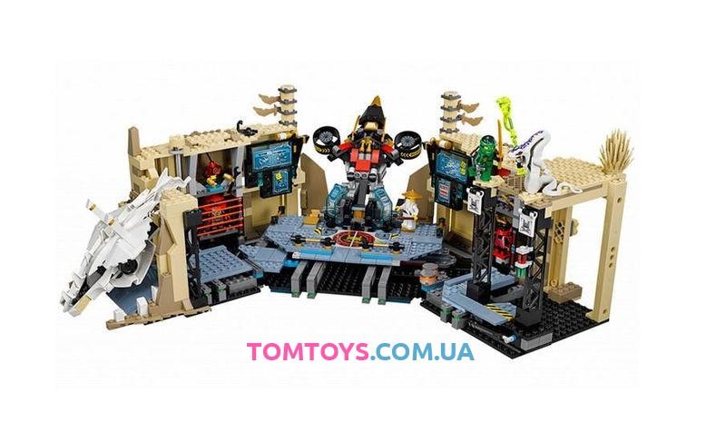 Конструктор Lele Ninja аналог Lego Ninjago 70596 Хаос в X-пещере Самураев 79348