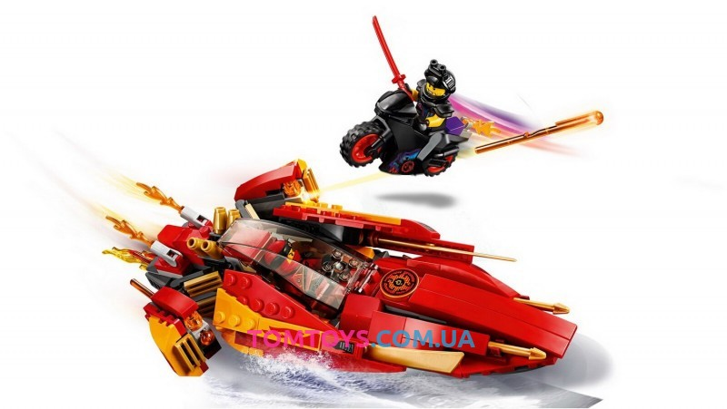 Конструктор Ninja Bela аналог Lego Ninjago 70633 Катана V11 10801