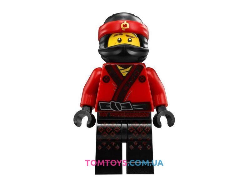 Конструктор Ninjago Movie Bela аналог Lego 70615 Огненный робот Кая 10720