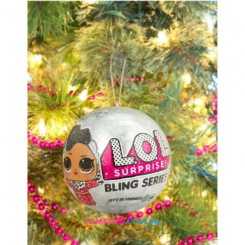 Кукла L.O.L. Surprise MGA Bling Ball Series with 7 Surprise Праздничный сюрприз