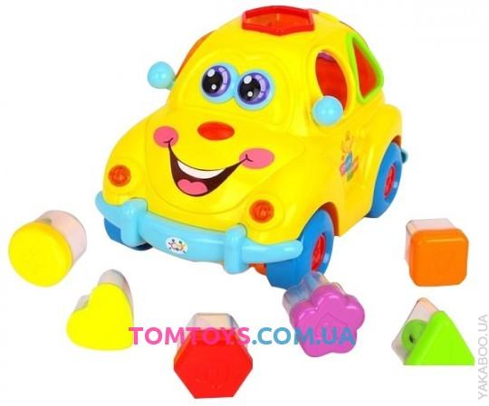 Машинка-сортер Автошка Limo Toy музыкальная 9170
