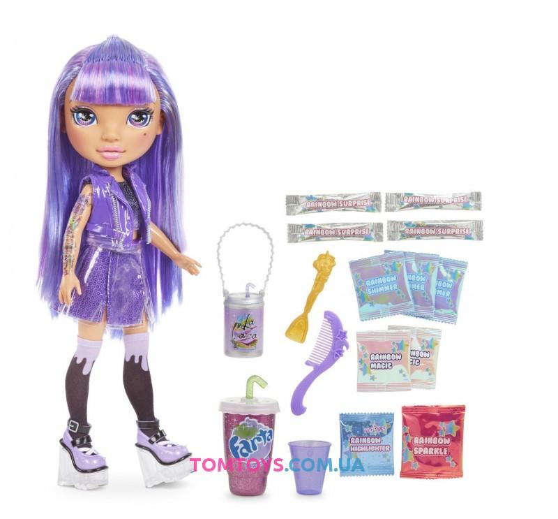 Набор Пупси Радужные Девочки Poopsie Rainbow Girls Фиолетовая или Голубая Серия 1+20 сюрпризов