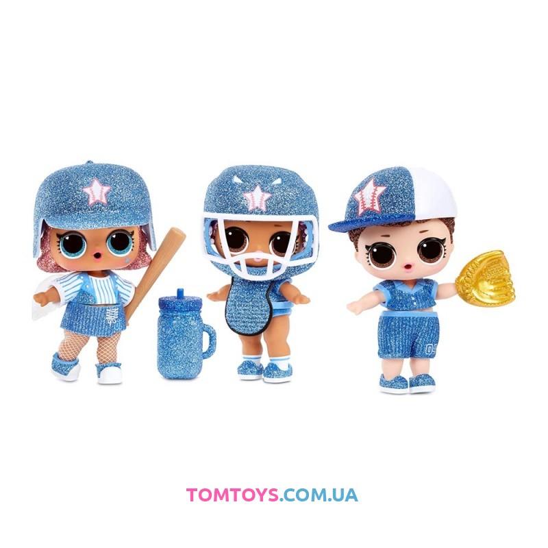 Набор сюрприз LOL Surprise All Star BBs Голубая бейсбольная команда 570363