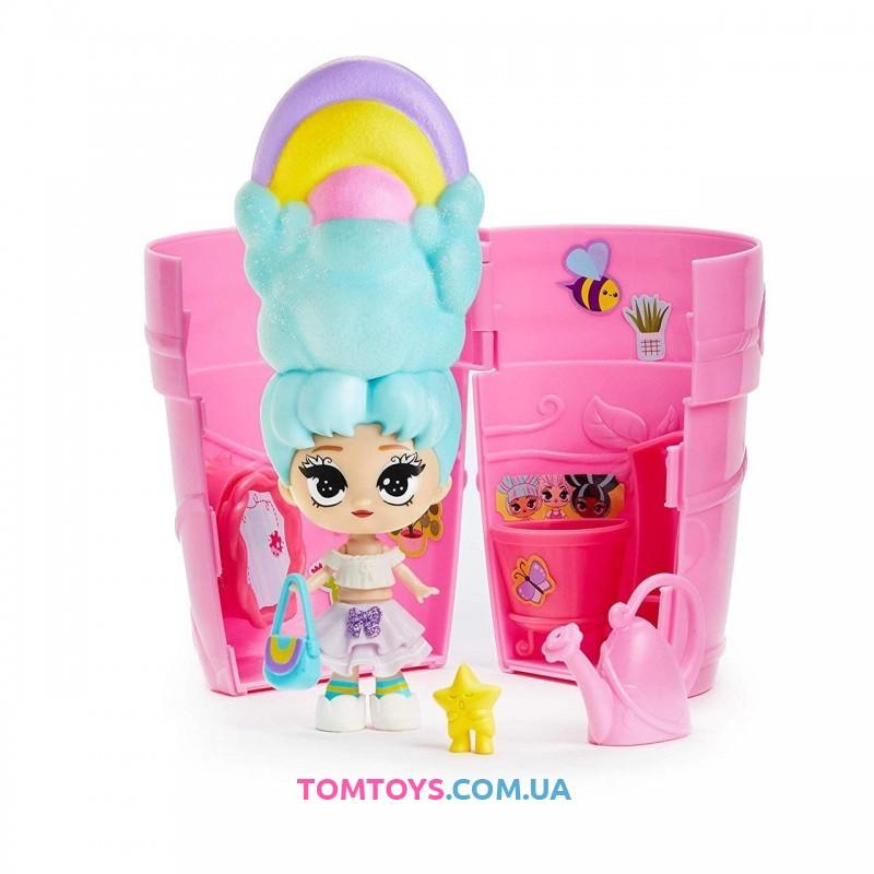 Растущая Кукла сюрприз Блум в горшочке YL-5028