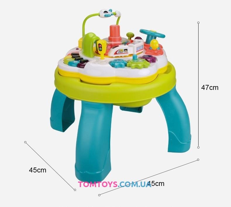 Развивающий игровой центр столик 35388