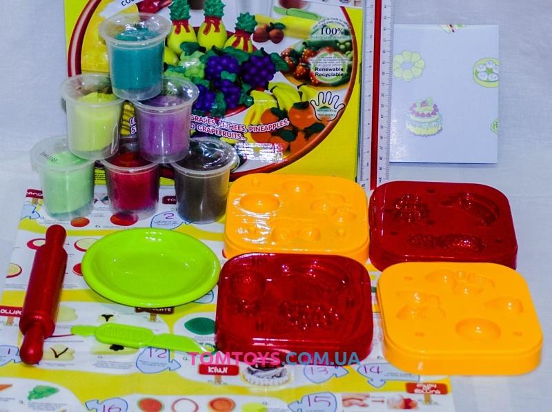 Тесто для лепки Colour Dough набор фруктов Fresh Fruit 8519