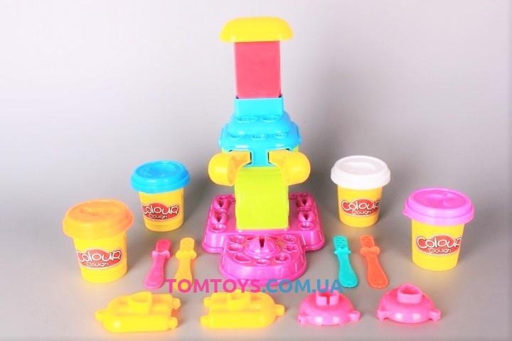 Тесто для лепки Colour Dough набор мороженого и конфет 6614