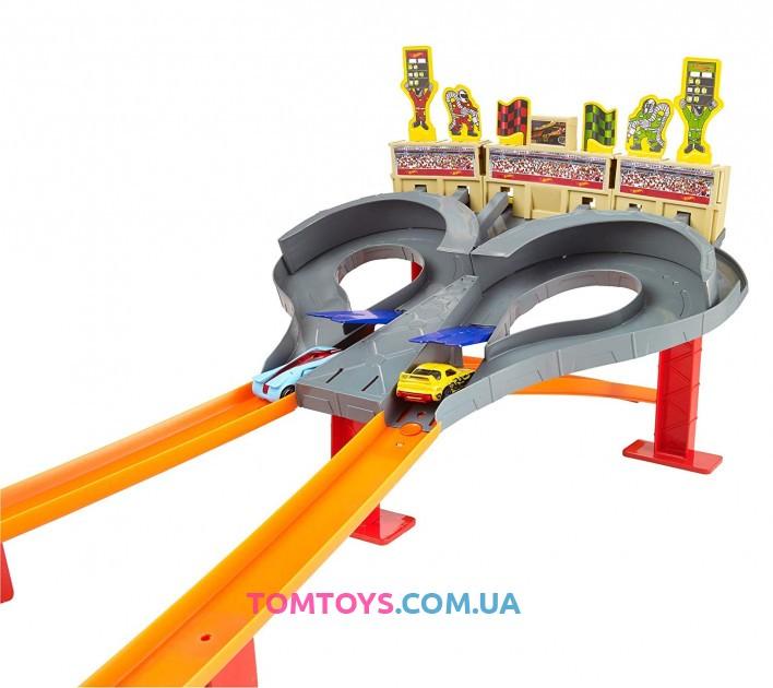Трек Hot Wheels Super Speed Blastway  Безумные гонки CDL49