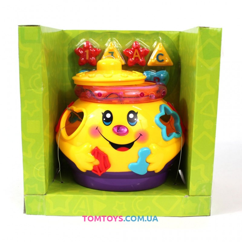 Весёлый горшочек Limo Toy музыкальный сортер 0915