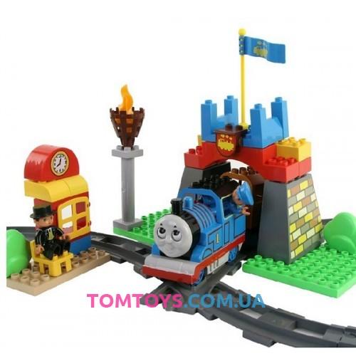 Железная дорога JIXIN THOMAS с конструктором M 0443 U/R
